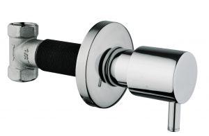 Creavit AC90L, Bidet-WC, Unterputz, Wandarmatur-Design, Absperrventil, Taharet