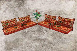 Sark Kösesi, Orientalische Sitzmöbel, 8-tlg. Orientalische Sitzecke, Anadolu