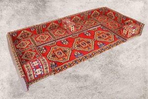 Orientalische Sitzkissen, Sitzecke, Sark Kösesi, 22-tlg. Orientalisches Sofa