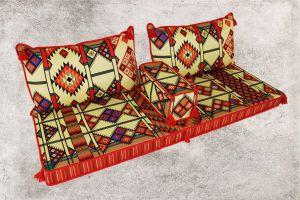 Orientalische Sitzecke, Sark Kösesi, Kelim, Sedir Minder, Orientalische Möbel Asya-1