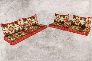 Orientalische Sitzecke, Orientalische Sitzmöbel, 8-tlg. Sark Kösesi, Asya-2