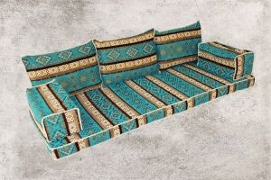Sark Kösesi, Orientalische Sitzecke, Kelim Sedir, Orient, Orientalische Möbel, Avsar-1
