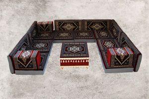 Orientalische Sitzecke, Sark Kösesi, Shisha-Ecke, Orientalische Möbel, Bosna-5