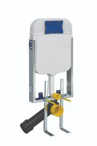 WC-Spülkasten GR5001 Hänge-Wand-Unterputz-SET, Toiletten-Vorwandelement