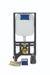 WC-Spülkasten - Toiletten-Vorwandelement - Hänge-Wand-Unterputz-SET GR5003