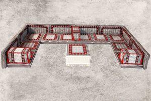 Orientalische Sitzecke, 22-tlg. Orientalische-Sitzmöbel, Orient-Möbel, Sark Kösesi