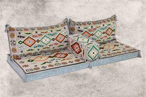 Orientalische Sitzecke, Sark Kösesi, Kelim, Sedir Minder, Orientalische Möbel