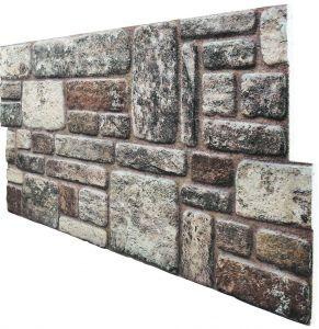 3D Wandpaneele, 3D Wandverkleidung, Natursteinoptik, KR-311 Bosna 50 x 100 cm