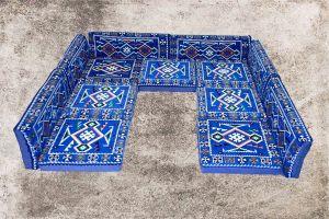 Orientalische Sitzkissen, Arabische Sitzecke, Sark Kösesi, 13-tlg. Orientalisches Sofa