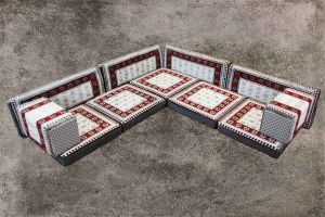 Orientalische Sitzecke, 11-tlg. Orientalische Ecke Sitzmöbel, Orient-Möbel, Sark Kösesi