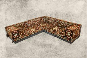 Orientalische Sitzecke , Sark Kösesi, Osmanische Sitzecke, Orientalische Möbel
