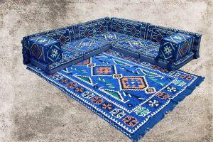 Orientalische Sitzkissen, Sitzecke, Sark Kösesi, 12-tlg. Orientalisches Sofa