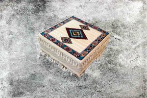 Orientalische Sitzecke, Orientalisches Sitzkissen, Sark Kösesi, Tisch, BJ-11