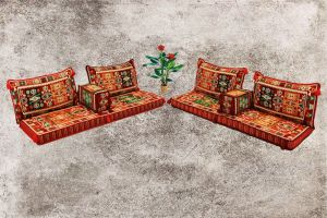 Sark Kösesi, Orientalische Sitzmöbel, 8-tlg. Orientalische Sitzecke, Ottomane Sofa