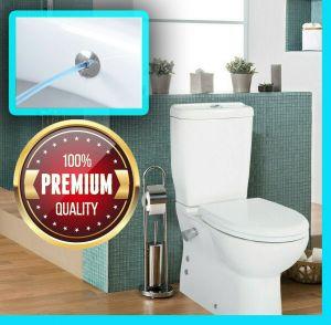 Set SD318 Stand-WC mit Spülkasten+Deckel , mit Armatur, Taharet-/Bidet-Toilette, Set