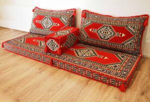 Sark Kösesi, Orientalische Sitzecke, Kelim, Sedir Minder, Orientalisches Sofa