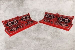 Orientalische Sitzecke, Sark Kösesi, Kelim, Sedir, Orientalische Möbel, Ürgüp-2