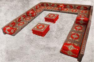 Orientalische Sitzecke, Sark Kösesi, Orientalisch Ecke, Orientalische Möbel, SR7