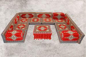 Orientalische Sitzecke, Sark Kösesi, Shisha-Ecke, Orientalische Möbel, SR5