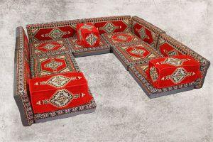 Orientalische Sitzecke, Sark Kösesi, Shisha-Ecke, Orientalische Möbel, SR4