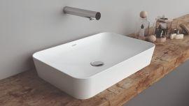 Creavit UL-060 Keramik Waschtisch Waschbecken Aufsatzwaschtisch 40x60 cm