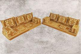Orientalische Sitzecke, Sark Kösesi, Kelim, Sedir, Orientalische Möbel, Halep-2