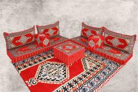 Orientalische Sitzecke, Sark Kösesi, Orientalische Sitzmöbel , Set 10-tlg.
