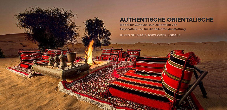 Orientalische Sofa